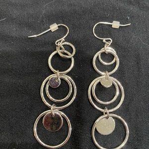 Lia sophia silver circles